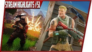 Fortnite PS4 Best Stream Moments #51 Part 1
