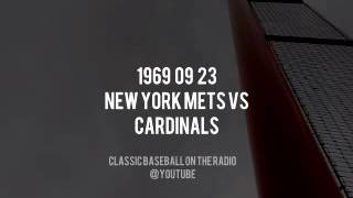 1969 09 23 New York Mets vs Cardinals Mets Magic #1