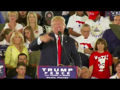 Live stream 10/12/16 - Multiple Donald Trump rallies, portion of Hillary in Colorado