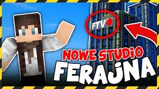 Minecraft FERAJNA: NOWE STUDIO FERAJNA TV!