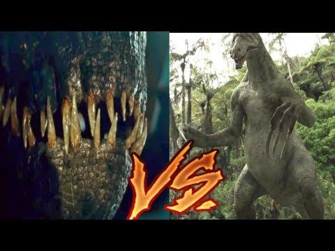 Indoraptor vs Therizinosaurus