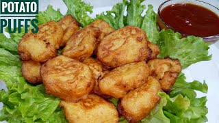 Potato Puffs| Easy Recipe| By Cooking With Safina.