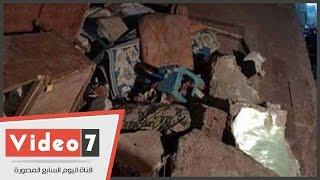 البحث عن مسن مفقود أسفل ركام عقارات بولاق أبو العلا