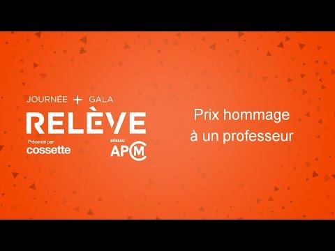 Relève APCM - Hommage à René Gendreau, HEC Montréal