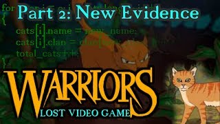 The Lost Warriors Video Game: New Evidence (Part 2)