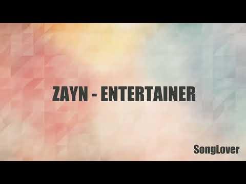 Zayn 🍃 entertainer 💜 new official music 🎵 lyrics