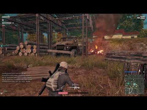 What just happened? (Silly PUBG times with BG and friends.)