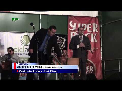 Ribeira Seca 2014 -  Cantoria -  Carlos Andrade e José Eliseu  - 10 de Setembro