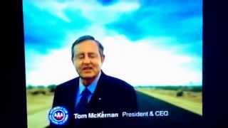 AAA Automobile Club of Southern California 100-year timeline commercial 2000