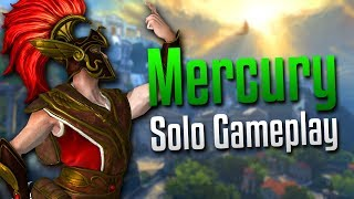 Smite: Not Quick Enough!- Mercury Solo Gameplay