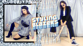 How To Style BLAZERS! Spring Summer Fashion Trend!