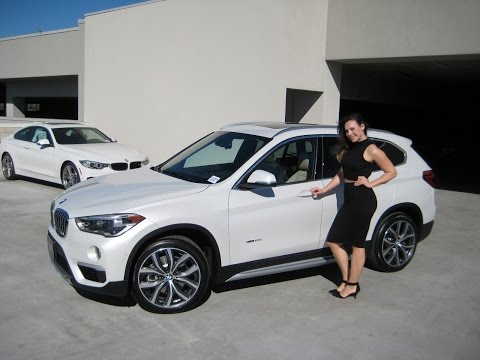 "NEW 2016 BMW X1 XDRIVE28i with 19"" wheels BMW Review"