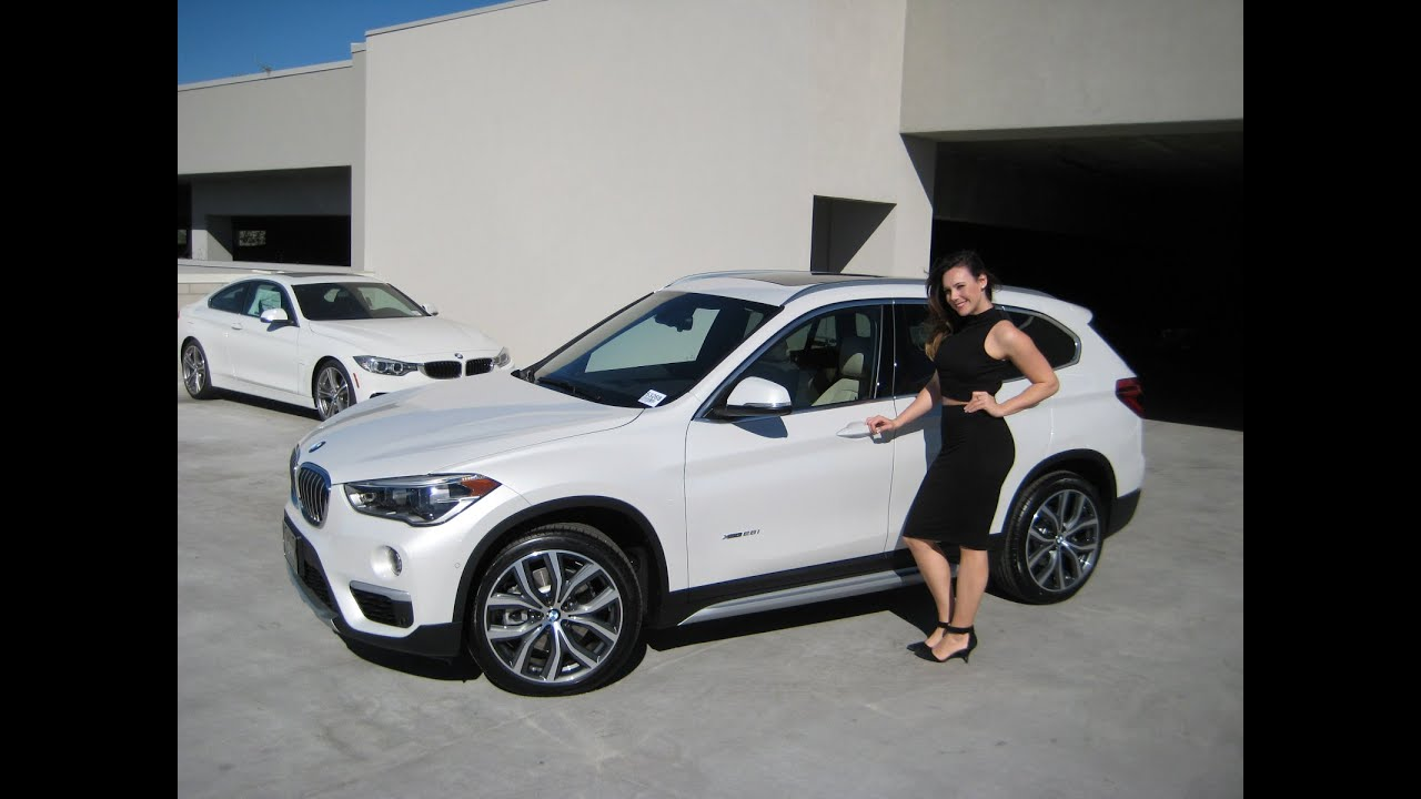 "NEW BMW X1 XDRIVE28i with 19"" wheels BMW Review - YouTube"