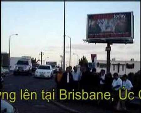 Nguyen Van Ly BillBoard in Brisbane, Australia