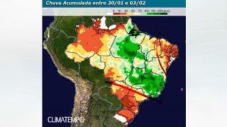 Chuva no BR em 15 dias (até 3/2/18)