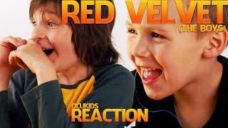 British Kids Watching Red Velvet 'ice Cream Cake' [the Boys] | Ocukids Kpop #9