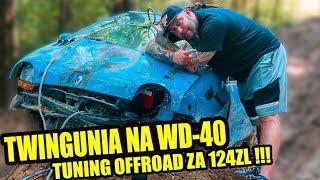 Twingo na WD40 w wersji Off-road za 124zł. Przeżyło ?