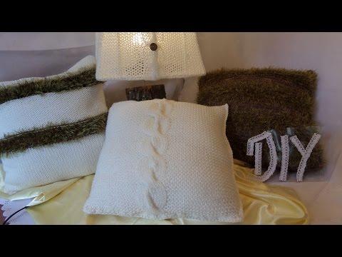 keka: DIY Wir STRICKEN ein Zopf Kissen – HOME-DEKO 4 -genaue ANLEITUNG