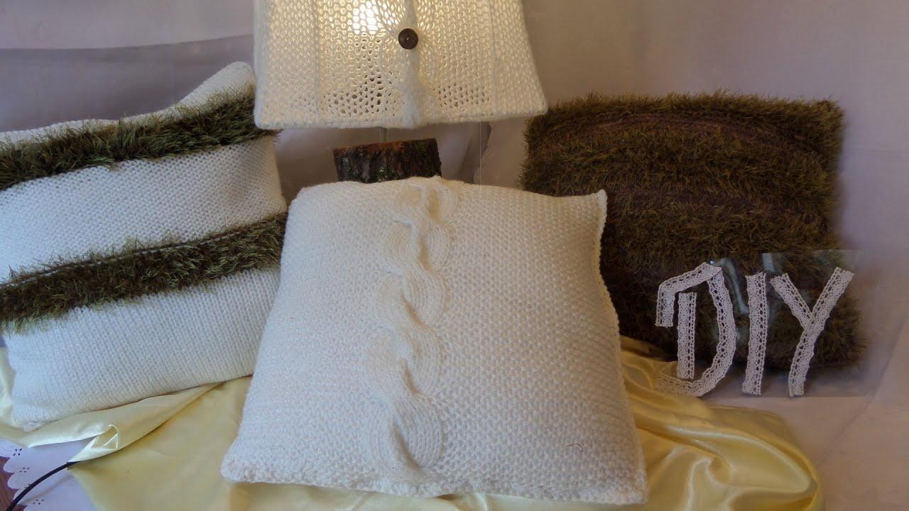 keka diy wir stricken ein zopf kissen home deko 4 genaue anleitung youtube. Black Bedroom Furniture Sets. Home Design Ideas