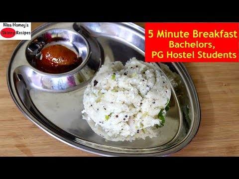 5-minute-healthy-breakfast-for-bachelors,-pg-hostel-students,-hostlers-|-skinny-recipes