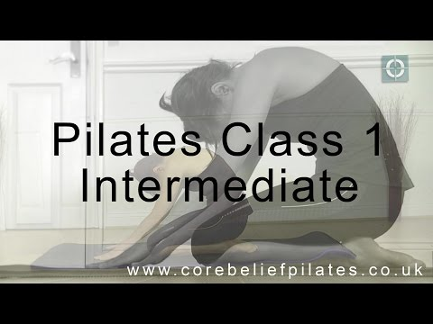 Pilates Class 1 - Intermediate