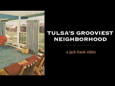 LORTONDALE MID-CENTURY MODERN Flat Roof Neighborhood In Tulsa, OK | Tulsa History Series