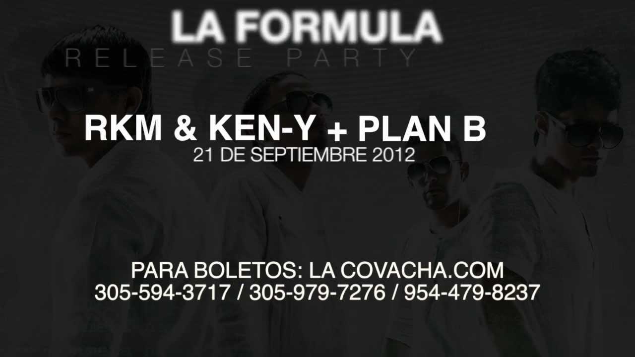 La Formula Release Party @ La Covacha Miami (Promo)