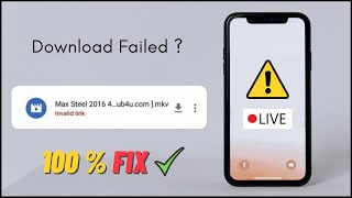 Fix Failed Movies Downloads (Link expired downloads) Repair Your Downloads | Hindi