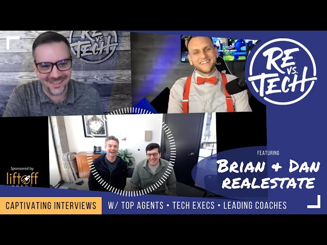 Real Estate Partnership That Works with Brian And Dan |Silicon Valley Real Estate| RE vs TECH |Ep#76