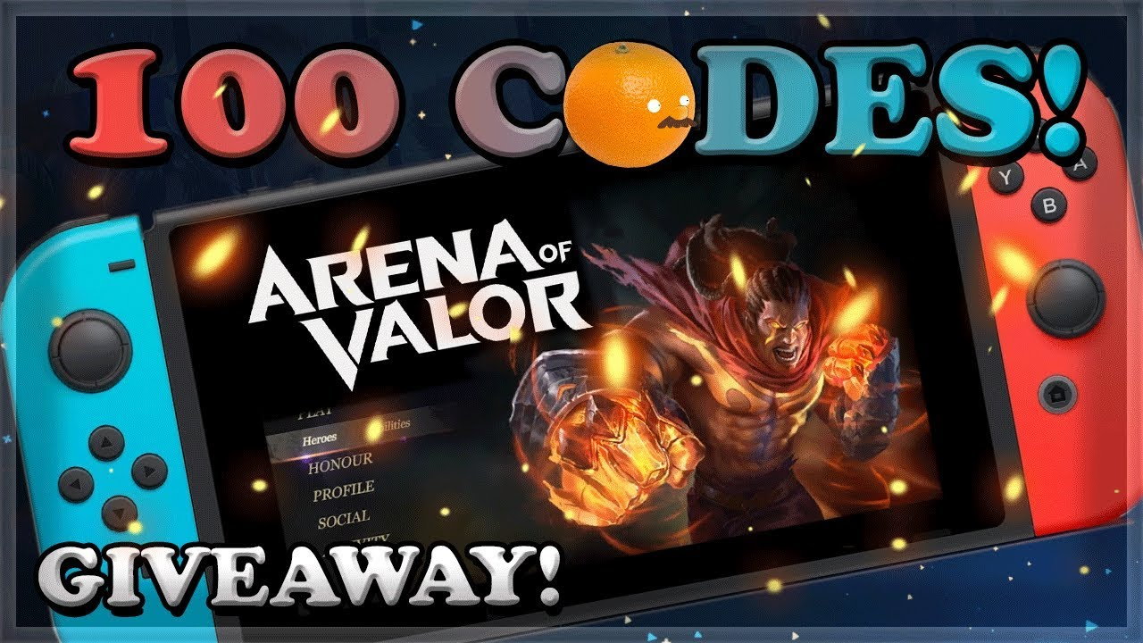 Arena of Valor on Nintendo Switch! Closed Beta for AoV 🍊
