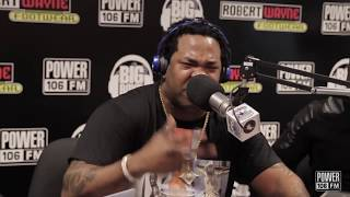 Busta Rhymes Raps LIVE In Big Boy
