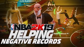 i helped negative records win vc in comp stage on nba 2k19...