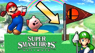 Super Smash Bros. Ultimate - Who Can Beat This Golf Challenge?