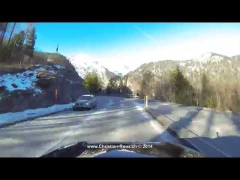 UHD/4K - Switzerland 265 (Camera on board): Brünigpass / Col du Brünig (GoPro Hero3)