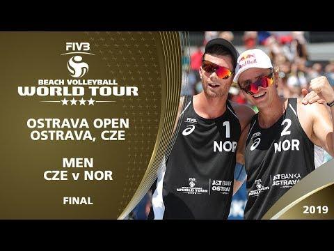 Men's Gold Medal: CZE Vs NOR   4* Ostrava (CZE) - 2019 FIVB Beach Volleyball World Tour