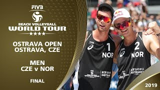 Men's Gold Medal: CZE vs NOR | 4* Ostrava (CZE) - 2019 FIVB Beach Volleyball World Tour