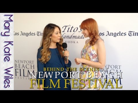 Behind the Scenes at the Newport Beach Film Festival!