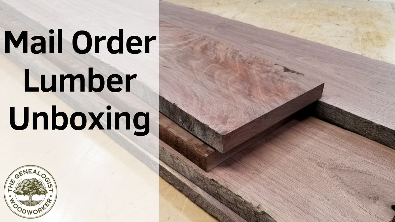 Mail Order Lumber Unboxing Is It