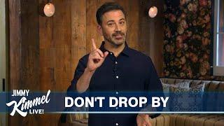 Jimmy Kimmel's Quarantine Monologue – The Cardinal Sin of Quarantine & Homemade Hydroxy