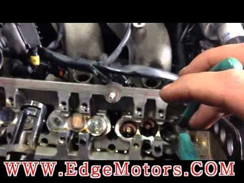 VW Audi v6 engine valve stem seals replacement DIY by Edge Motors