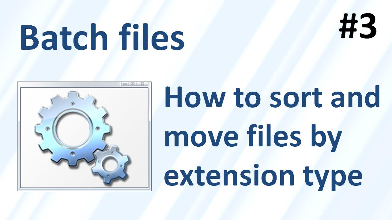 how to make a batch file type