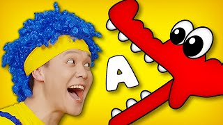 Learn the ABC with D Billions   English Letters for Kids