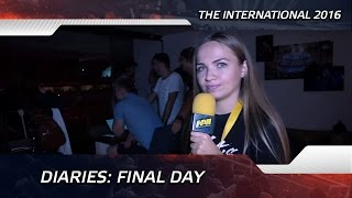Diaries: Final Day @ The International 2016 (ENG SUBS)