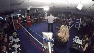Stoke | Ultra White Collar Boxing | Craig Bennett vs Gavin Jepson