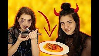 פולניה מנסה אוכל מרוקאי \\ עם טל פרי