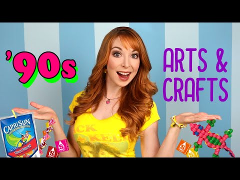 90s Arts & Crafts!