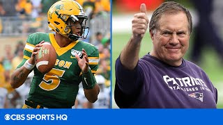New Mock Draft: The Patriots Select QB Trey Lance | CBS Sports HQ