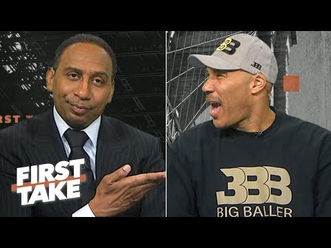 LaVar Ball says LaMelo will be the No. 1 pick in the 2020 NBA Draft & talks Lonzo-Zion | First Take