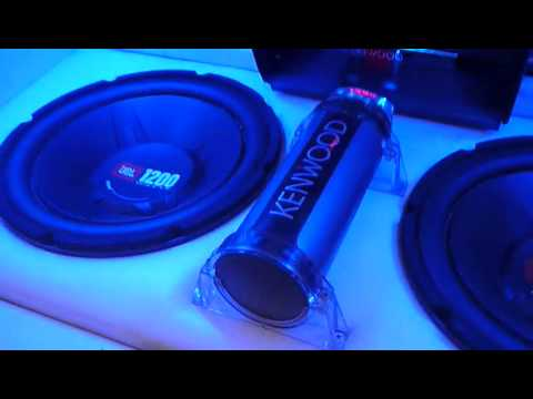 Jbl 1200watts 12inch Subwoofer Blowing With Alphine