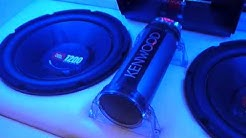 JBL 1200watts 12inch Subwoofer BLOWING with ALPHINE amplifier In CAR